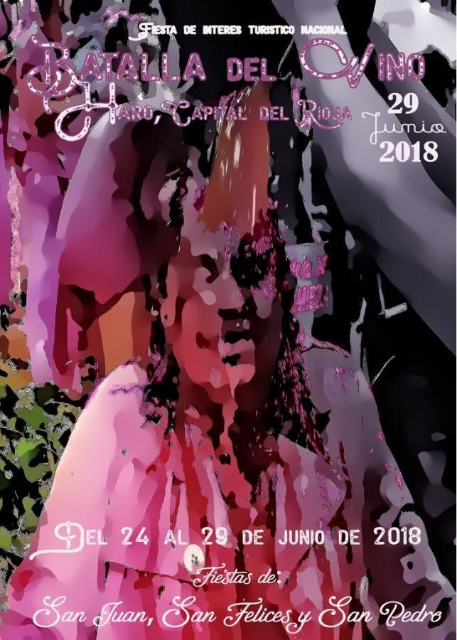 La Batalla del Vino 2018, Haro (La Rioja) el  29 de junio