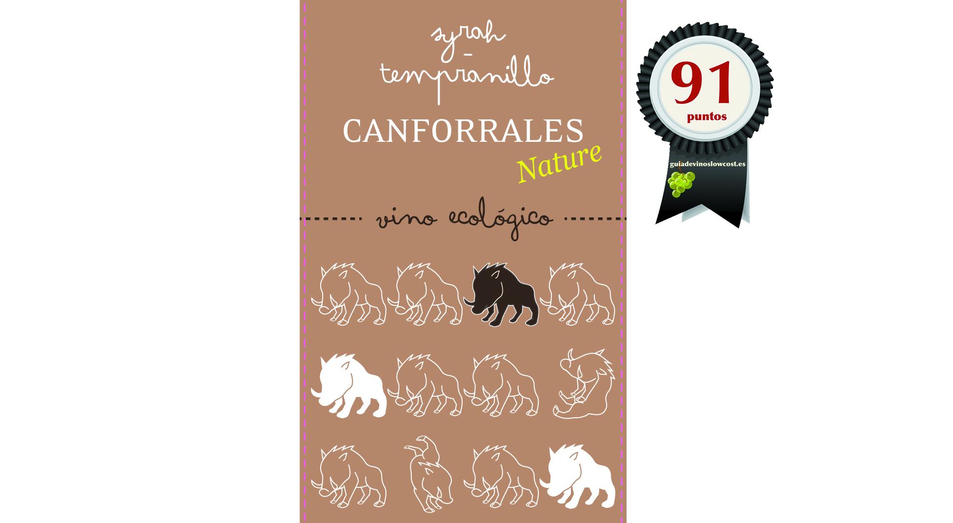 Canforrales Ecológico Tinto 2018
