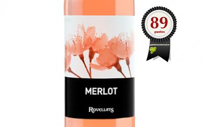 Rovellats Merlot Rosado 2017