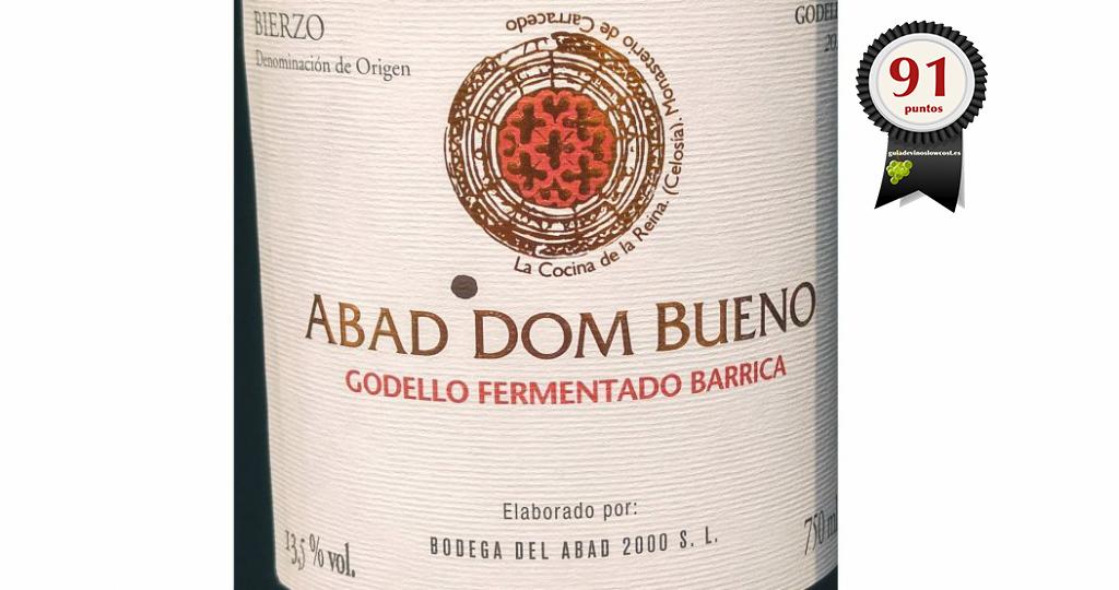 Abad Dom Bueno Godello Barrica 2018