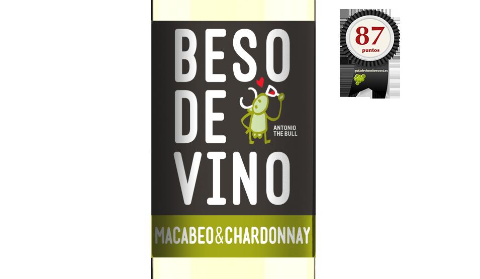 Beso de Vino Macabeo Chardonnay 2017