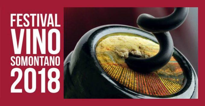 Festival Vino Somontano 2018, Barbastro (Huesca) del 2 al 5 de Agosto.
