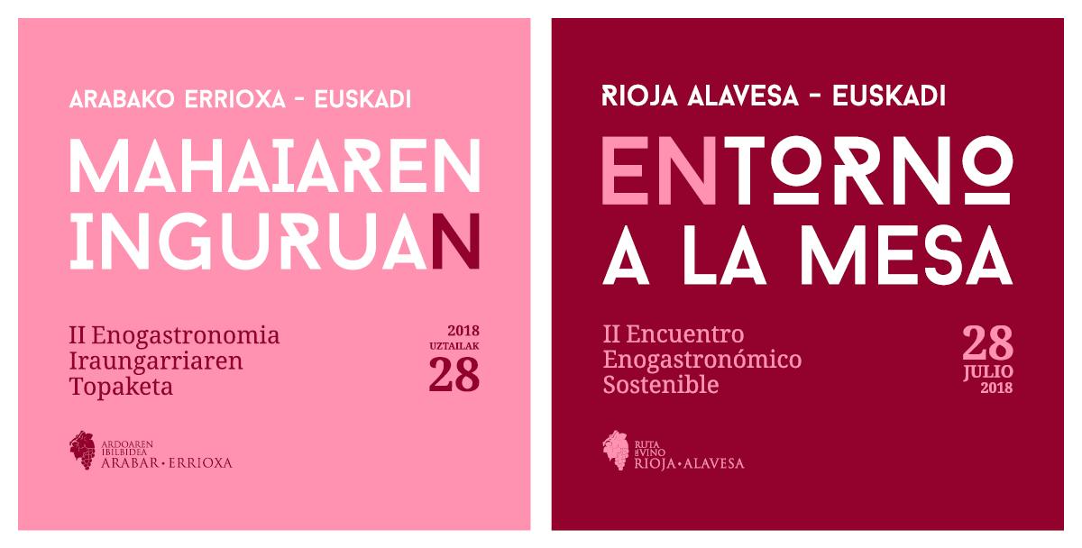 II Encuentro enogastronómico sostenible Rioja Alavesa-Euskadi, 28 de julio