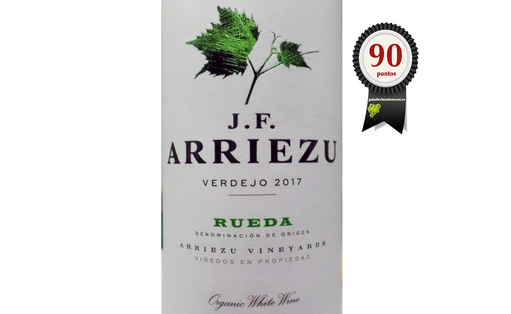 J.F. Arriezu Verdejo 2017 Ecológico