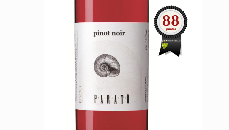 Parató Rosado Pinot Noir 2017 Ecológico