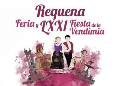 REQUENA LXXI EDICIÓN DE LA FIESTA DE LA VENDIMIA del 22 de agosto al 2 de septiembre