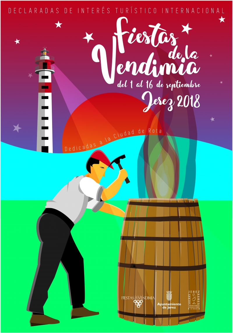 FIESTAS DE LA VENDIMIA JEREZ 2018 DEL 1 AL 16 SEPTIEMBRE