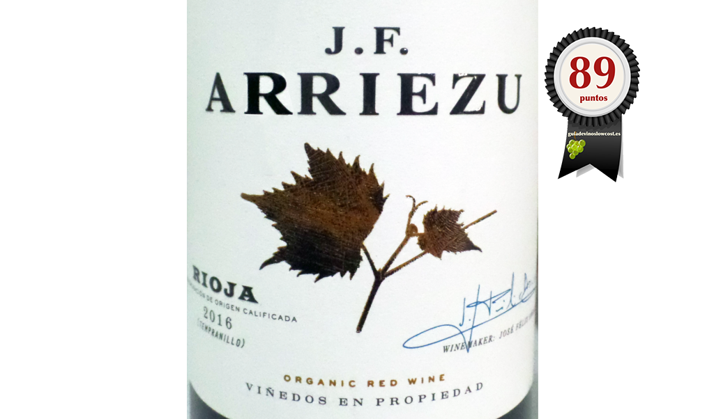 J.F. Arriezu 2016 Roble Ecológico