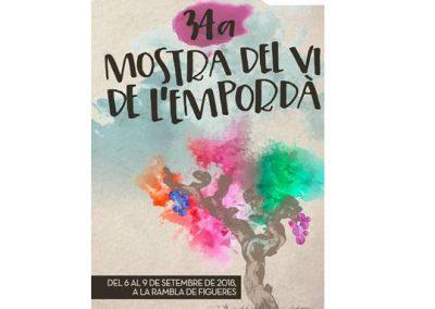 34ª edición de la Muestra del Vino del Empordà,  6 al 9 de septiembre