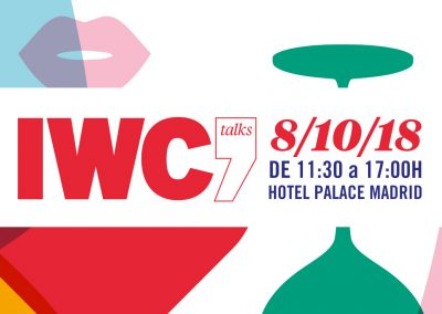IWC Talks del (IWC Merchant Awards) en Madrid 8 de Octubre