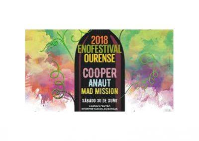 Enofestival 2018, Música y cultura del vino, Madrid 27 de octubre