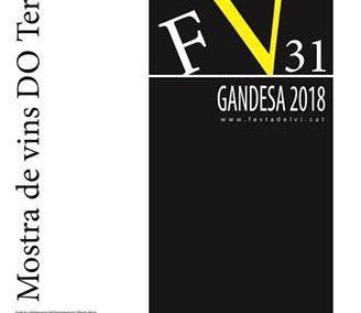 31ª EDICIÓN DE LA FIESTA DEL VINO DE GANDESA, del 2 al 4 de novembre