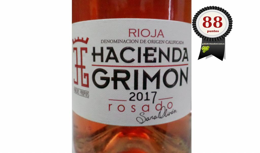 Hacienda Grimon Rosado 2017