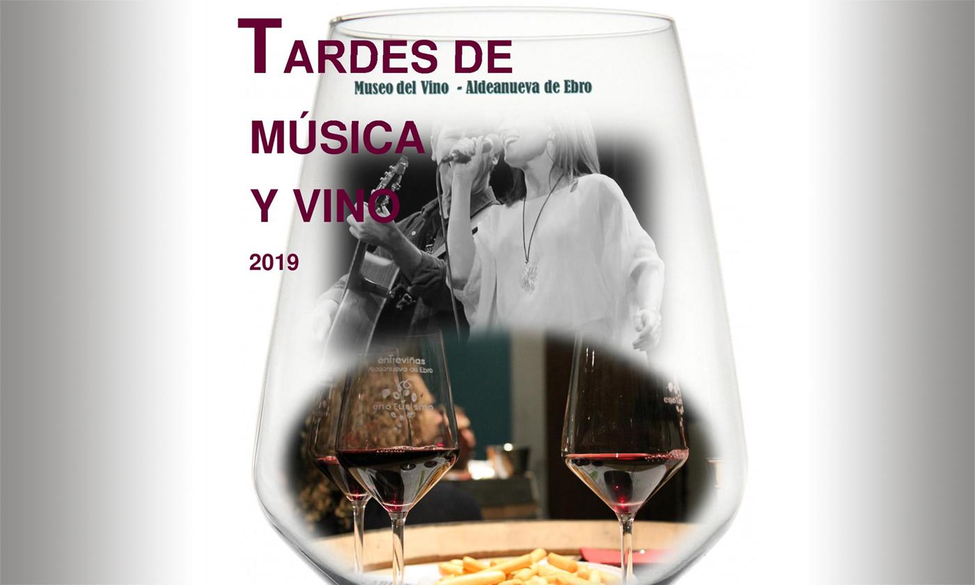 Tardes de Música y Vino 2019. Aldeanueva de Ebro desde 12 de enero