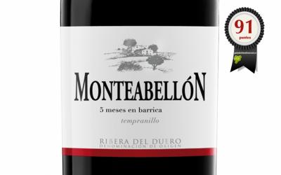 Monteabellón 5 meses barrica 2017