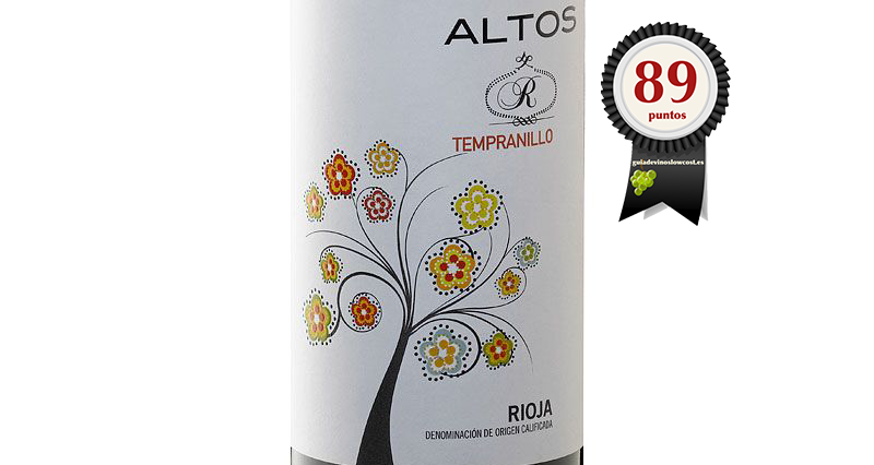 Altos R Tempranillo 2017