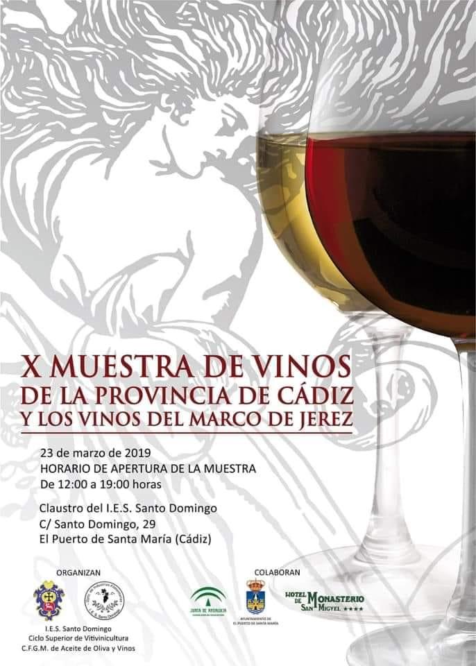 X Muestra de Vinos de Cádiz y del Marco de Jerez, 23 de marzo
