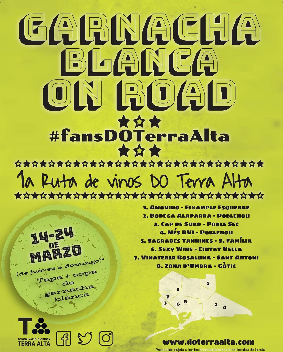 LA DO TERRA ALTA EN BARCELONA, del 14 al hasta el 24 de marzo