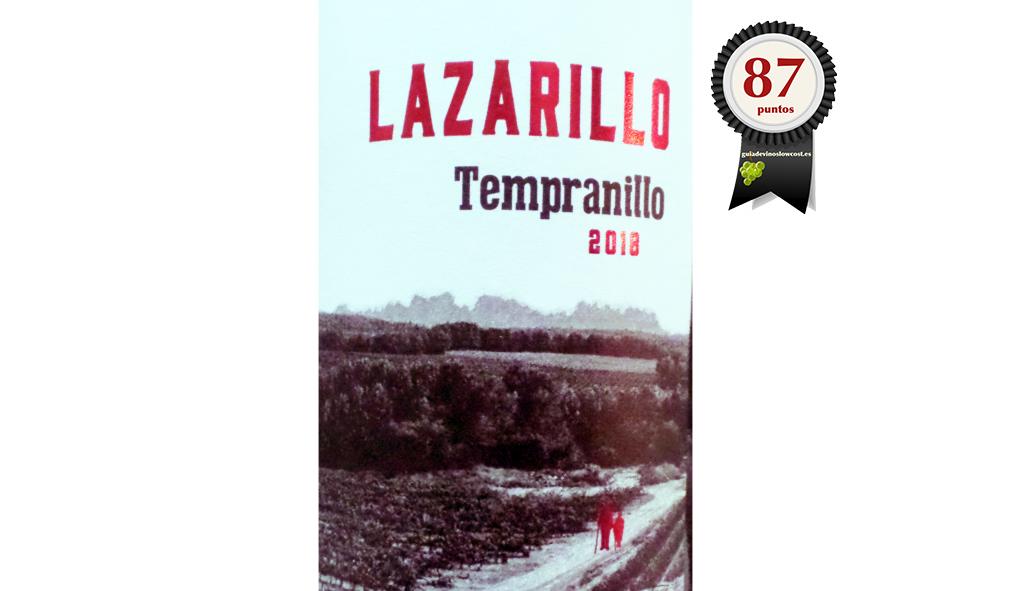 Lazarillo Tempranillo 2018