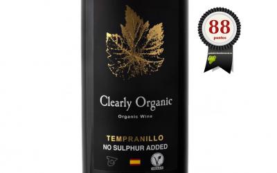 CLEARLY ORGANIC TEMPRANILLO (SIN SULFITOS) 2017