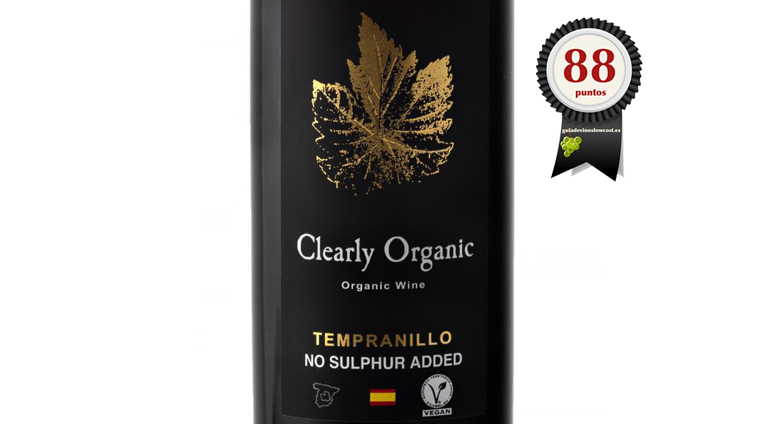 CLEARLY ORGANIC TEMPRANILLO (SIN SULFITOS) 2017