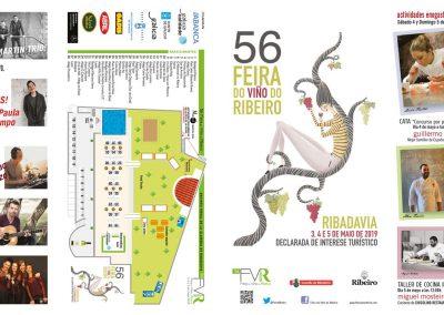 Feira do Viño do Ribeiro  3, 4 y 5 de mayo de 2019, en Ribadavia (Ourense),