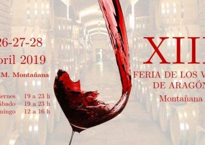 Feria de Vinos de Aragón , del 25 al 28 abril