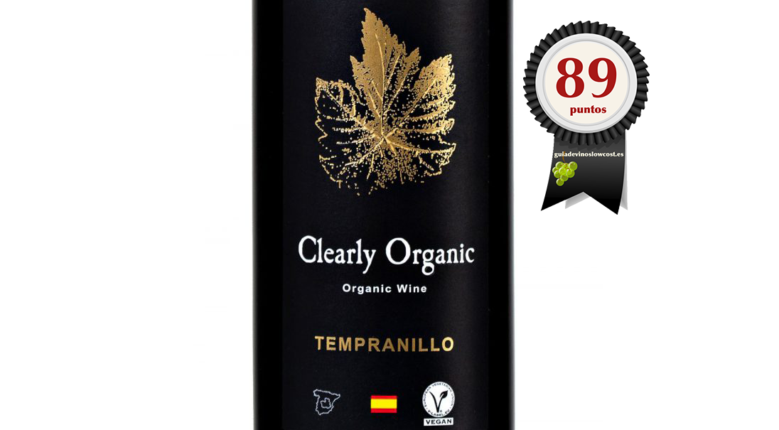 CLEARLY ORGANIC TEMPRANILLO 2017 (ECO)