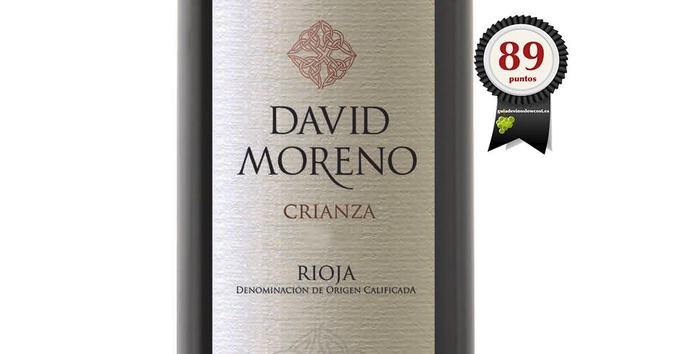 David Moreno Crianza 2016