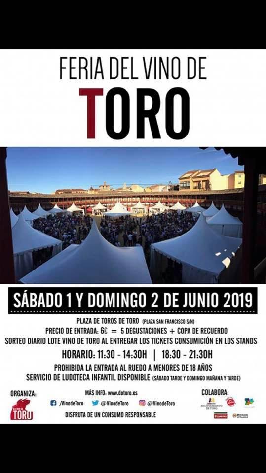 Feria del Vino de Toro, Toro (Zamora) 1 y 2 de Junio