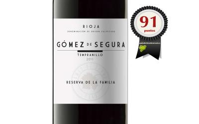 Gómez de Segura Reserva Familia 2014