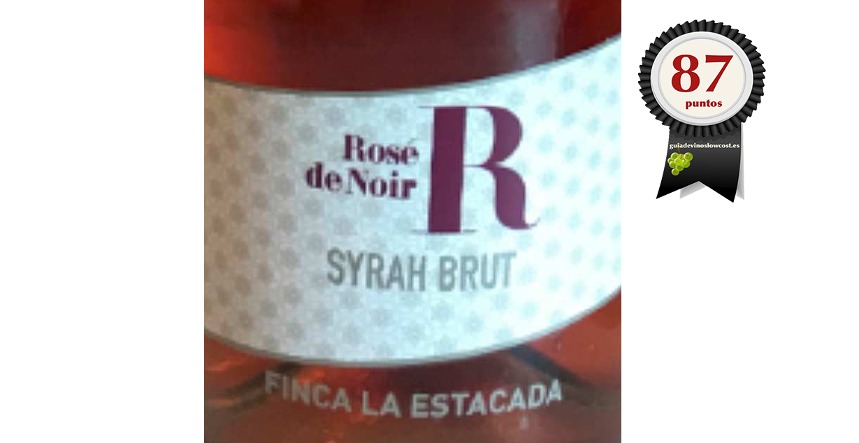 Finca La Estacada Syrah Brut 2018