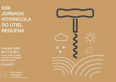 XXII edición de la Jornada Vitivinícola DO Utiel-Requena, 9 de julio