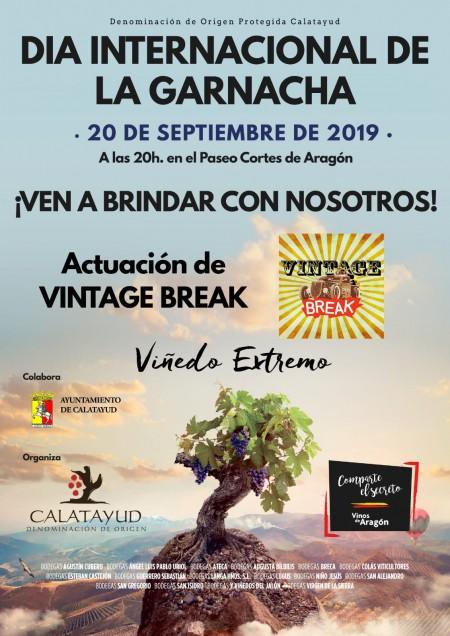 Día internacional de la Garnacha, Calatayud 20 septiembre