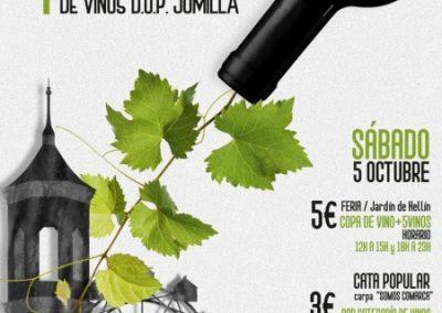 Feria de Vinos D.O.P. Jumila en Hellin, 5 octubre